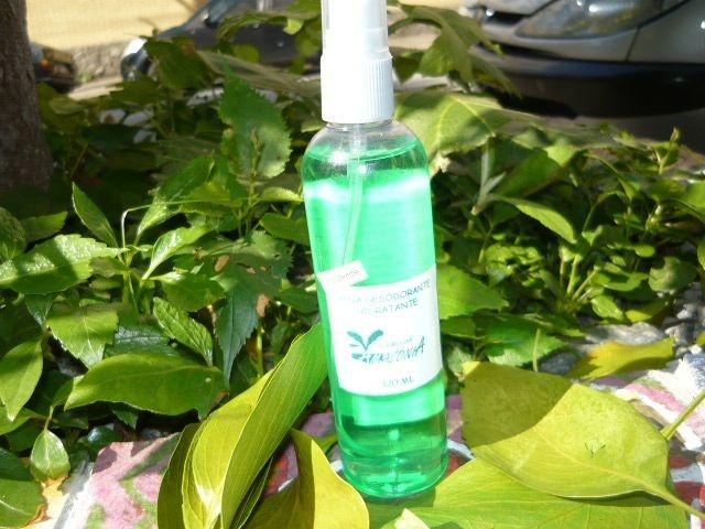 Água Desodorante Hidratante Cheiro da Amazônia aroma Lírio Verde 120 ML