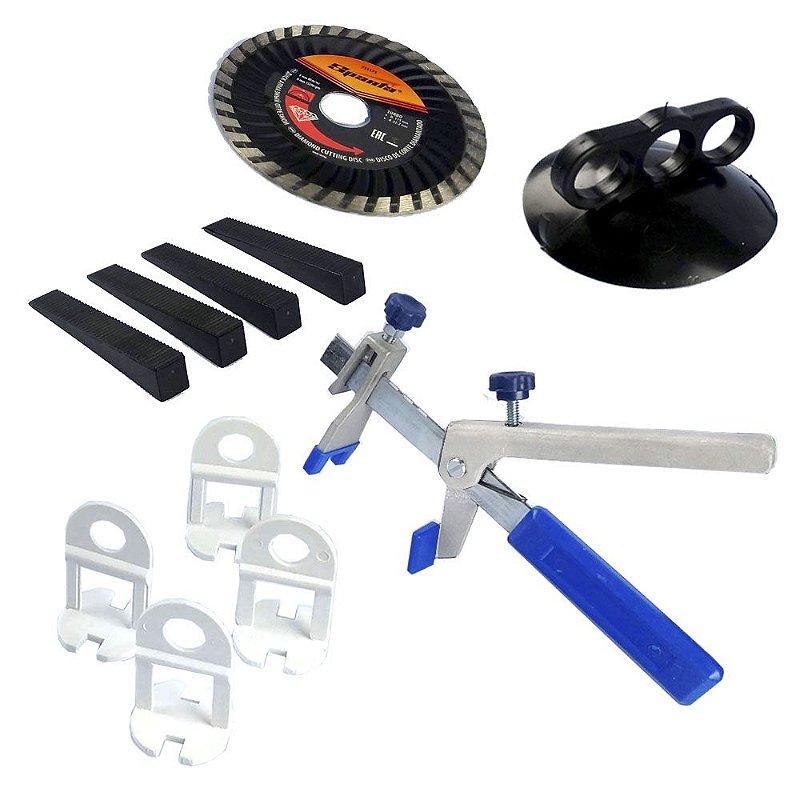 Niveladores para Porcelanato - Clips - Kit Com 1000 clips