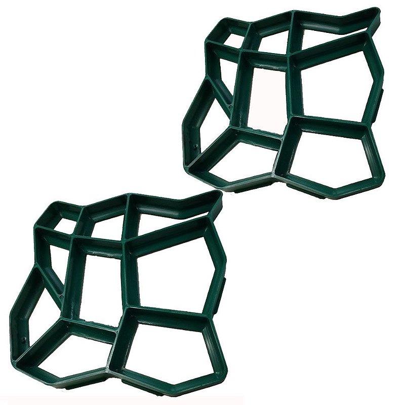Forma Para Concreto Easy Piso - Molde KIT com 2 unidades