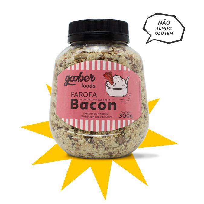 Farofa Goober Sabor Bacon  300g