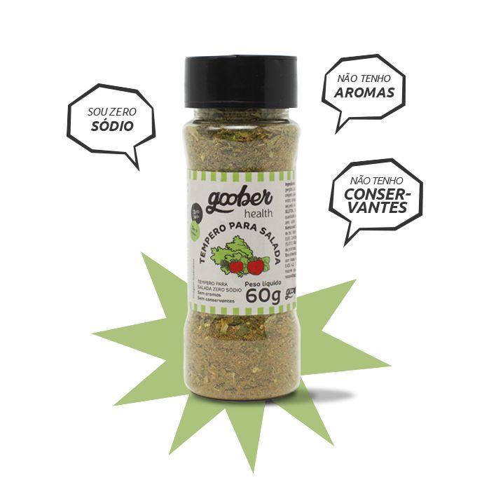 Tempero Goober Para Salada Zero Sódio 60g