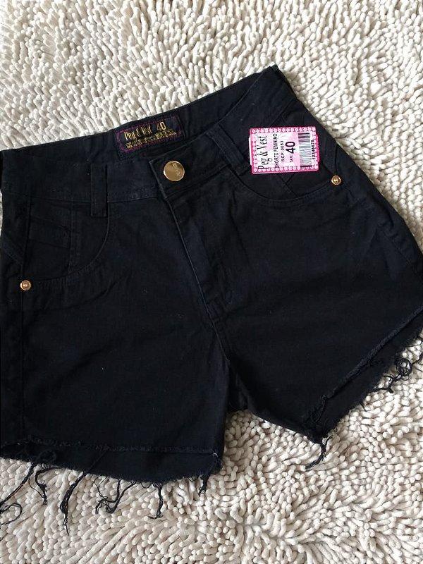Short Jeans - Com Elastano