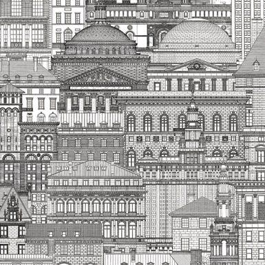 Papel de Parede Cidades. Coleção Artdecor2 80601 Importado Vinílico 15 mts