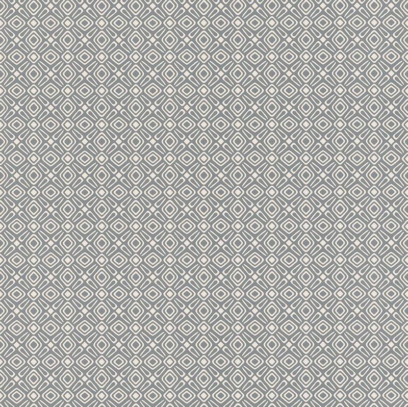 Papel De Parede Tic Tac II 10x0.53m Geométrico Cinza