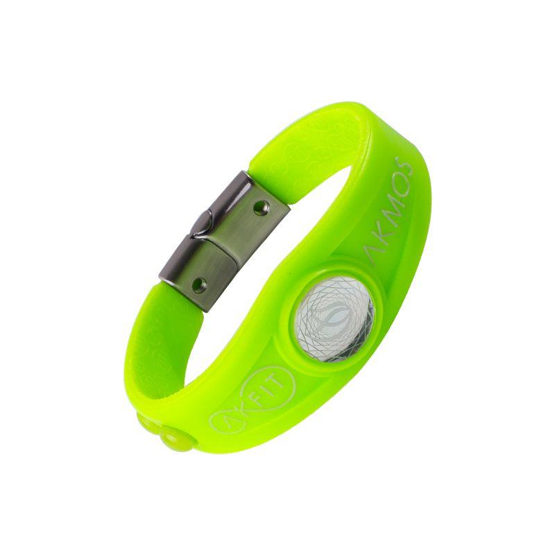 Pulseira Bracelete Akmos I9 Magnetica Equilibrio Bem Estar - Acid Lime