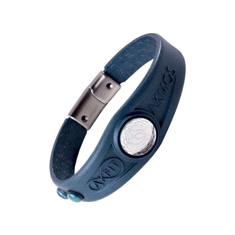 Pulseira Bracelete Akmos I9 Magnetica Equilibrio Bem Estar - Capitain Blue