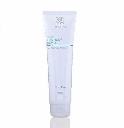 ROUTINE GEL DE LIMPEZA FACIAL - PELE NORMAL/MISTA