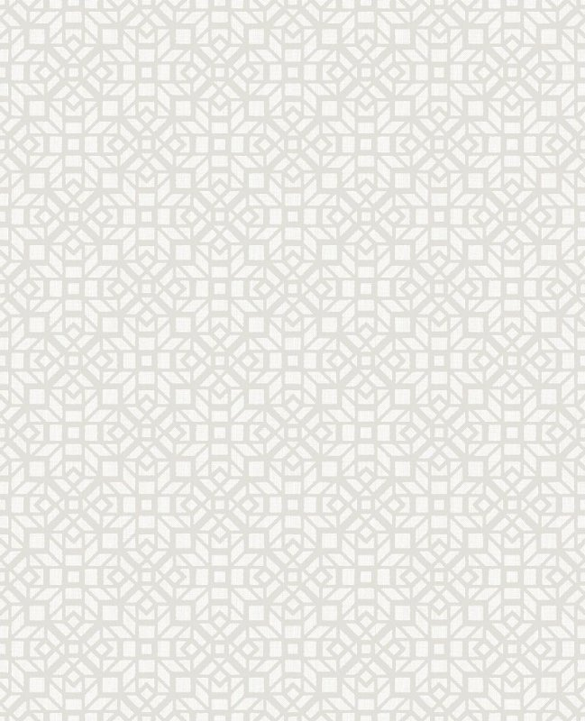 Papel De Parede Twist 10x0.52m Geometrico Fundo Cinza