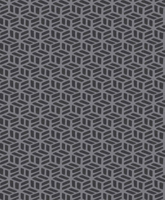 Papel De Parede Rumba 10x0.53m Geometrico Cinza