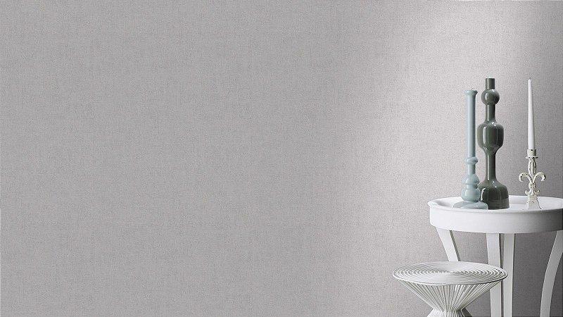 Papel De Parede Grace 10x0.53m Texturizado Cinza