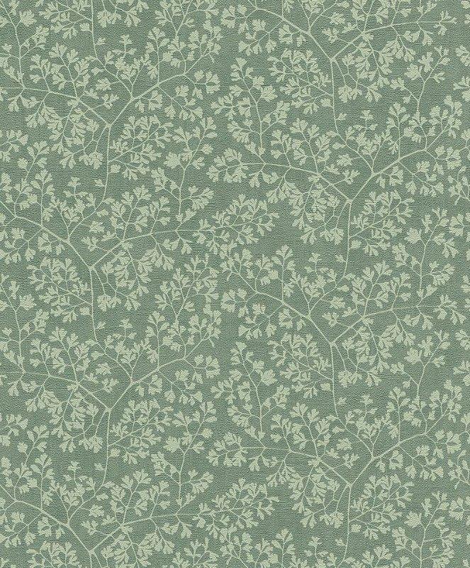 Papel De Parede Grace 10x0.53m Folhas Verde Oliva