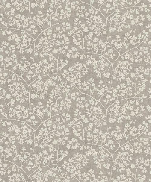 Papel De Parede Grace 10x0.53m Folhas Branco/Cinza