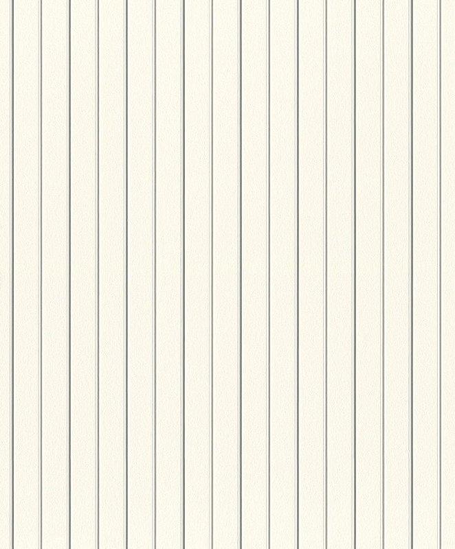 Papel De Parede Joy 10x0.53m Listra Branco/Cinza