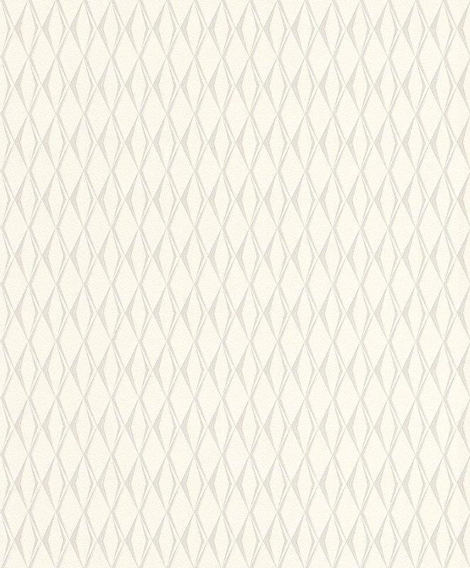 Papel De Parede Joy 10x0.53m Geometrico Bege/Creme
