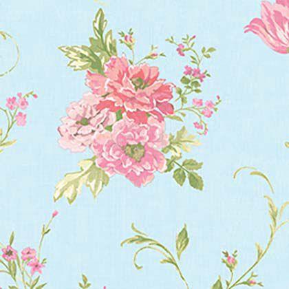 Papel De Parede Blossom Vinilico  1,06 X 15M  Florido 820213