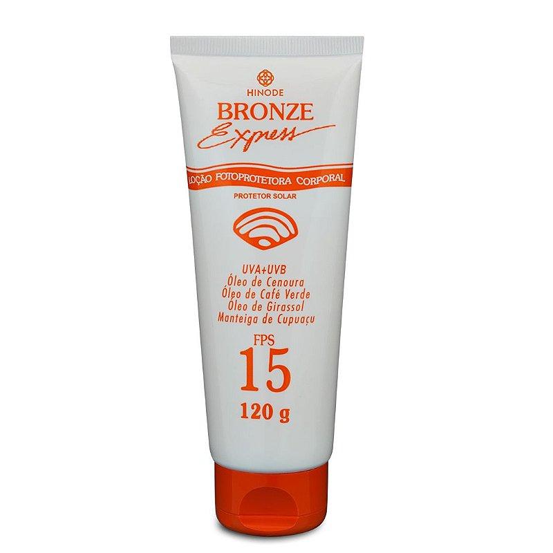 Bronze Express Loção Protetora FPS