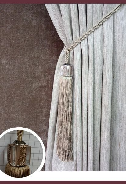 Abraçadeira p/ Cortina Pingente Luba Cristal 108