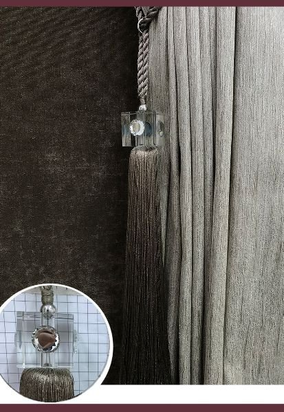 Abraçadeira p/ Cortina Pingente Luba Cristal 24