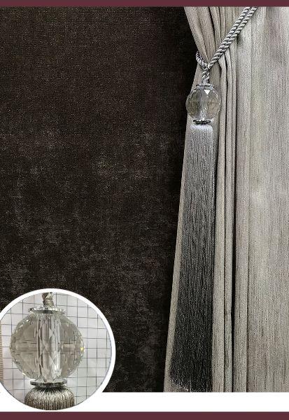 Abraçadeira p/ Cortina Pingente Luba Cristal 03