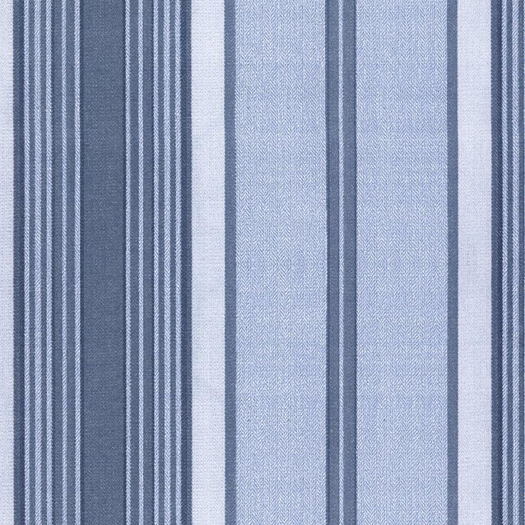 Papel De Parede Classique Listras Azul Jeans 2832