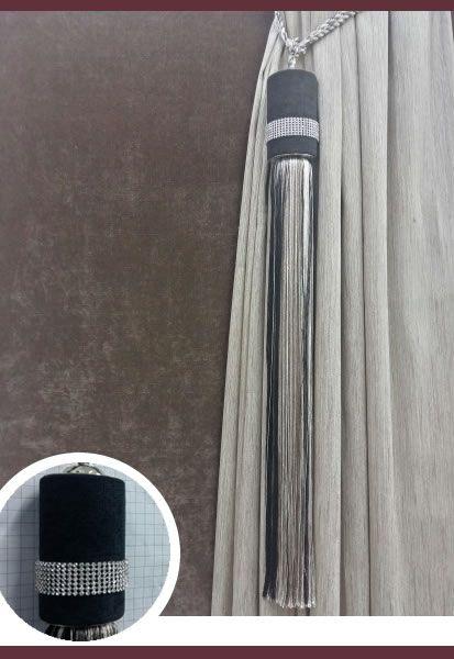 Abraçadeira p/ Cortina Pingente Luba Maxi 60