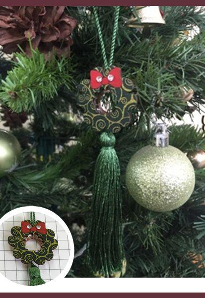 Abraçadeira p/ Cortina Pingente Luba Natal 10