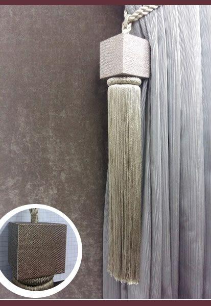 Abraçadeira p/ Cortina Pingente Luba Sofistic 110