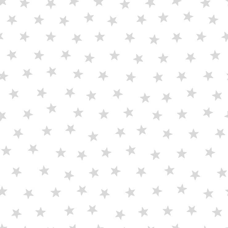 Papel De Parede Renascer Estrela Pequena Prata 6214