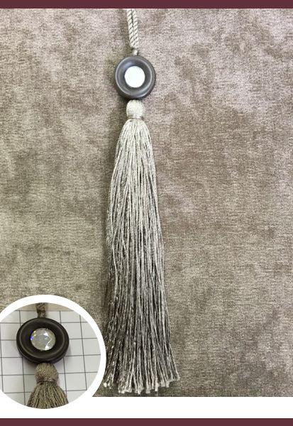 Abraçadeira p/ Cortina Pingente Luba Tassel 14 154 Simples