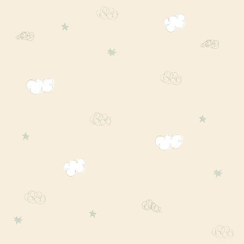 Papel De Parede Bambino's nuvem rosa claro 3311