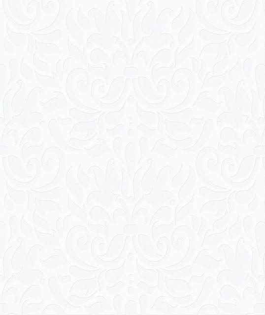 Papel De Parede Relevos Arabesco Cinza 3405