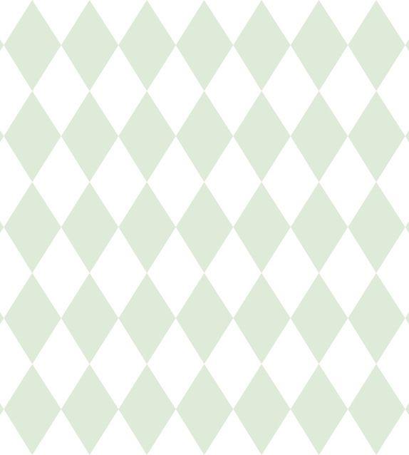 Papel De Parede Renascer Geometrico Verde 6241