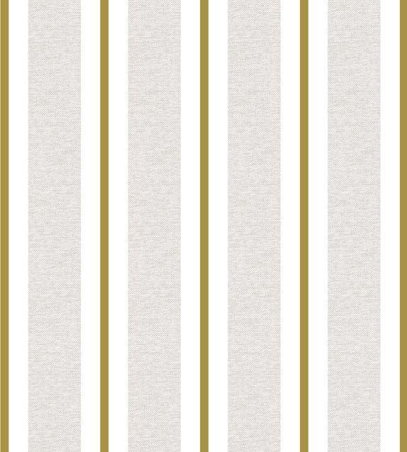 Papel De Parede Renascer Listra Cinza e Amarelo 6268