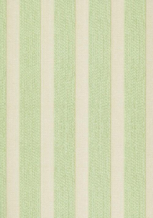 Papel De Parede Classique Listra Verde e Cinza 2809