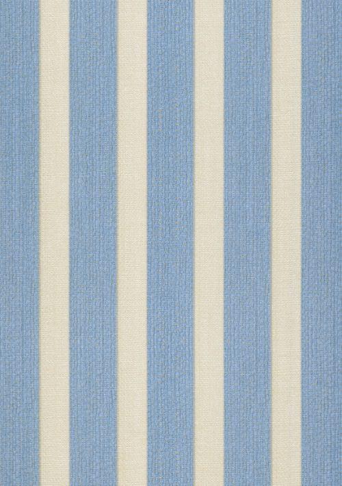 Papel De Parede Classique Listra Azul e Cinza 2811