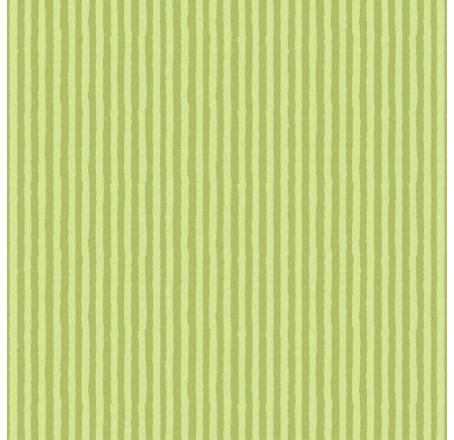Papel De Parede Infantário Listrado Verde 1748