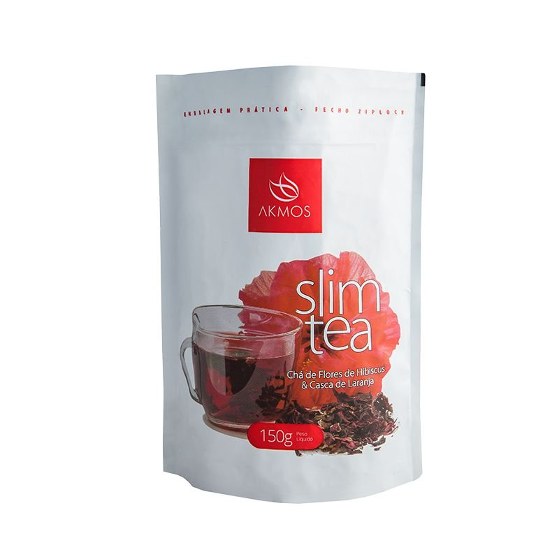 Chá - slim tea akmos hibisco