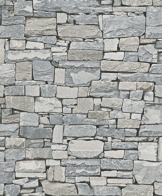 Papel de Parede 3D Pedras  Mambo 0401300614