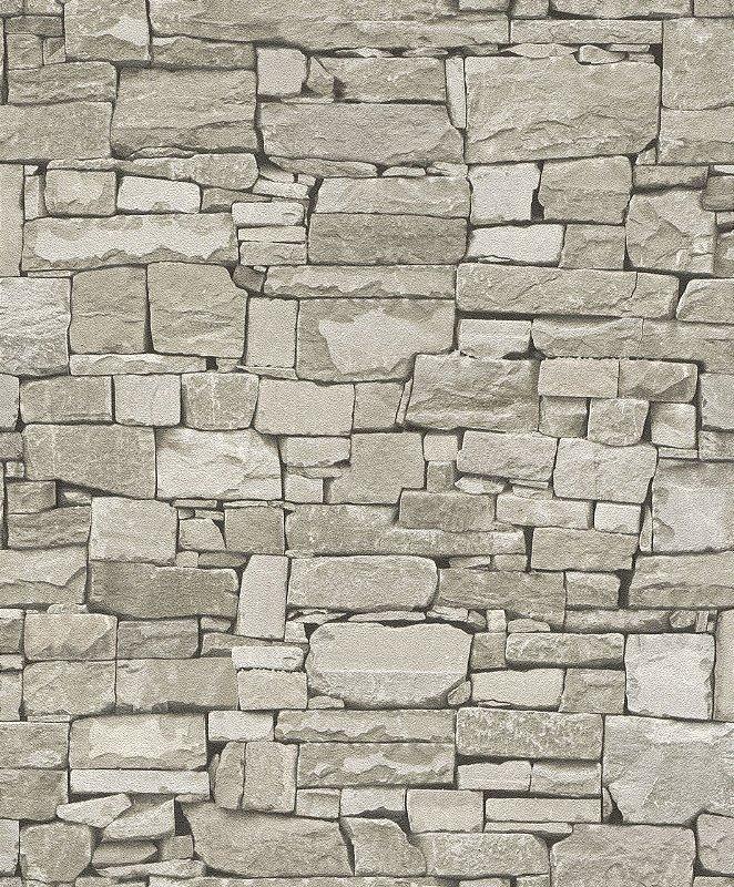 Papel de Parede 3D Pedras  Mambo 0401300615