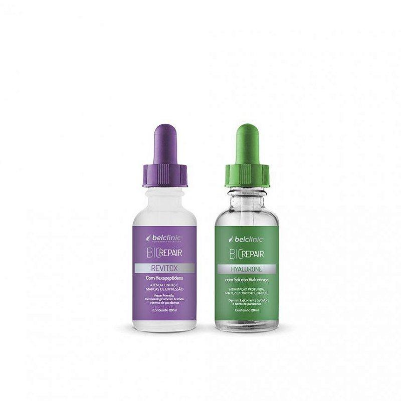 DUPLA HYALURONE + REVITOX - Botox sem agulhas - Único