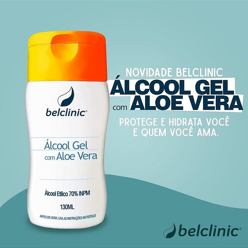 Álcool Gel com Aloe Vera