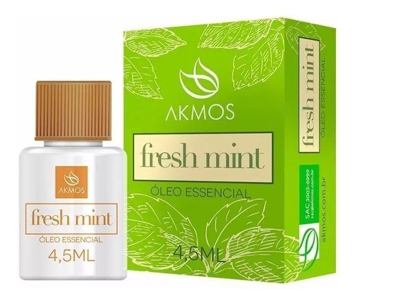 Fresh Mint – Óleo Essencial Terapêutico Akmos
