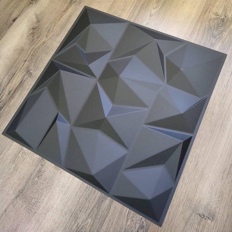 Revestimento 3d Pvc Adesivo Placa Dark Poly Premium 1 Mt²