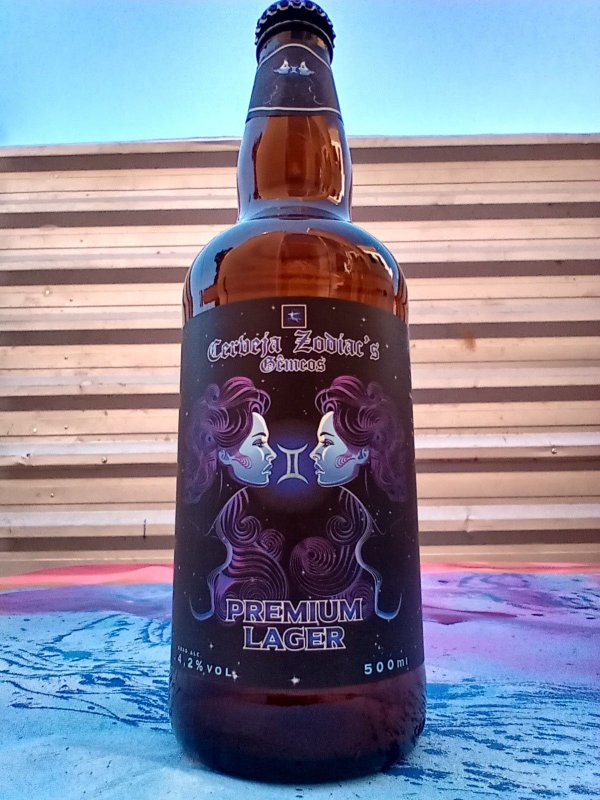 Cerveja Artesanal Zodiacs 500ml - Gemeos Premium Lager