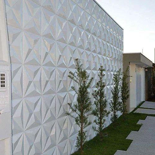 Revestimento Decorativo Placas 3D  Sicilia 1 mt²