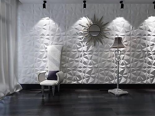 Revestimento Decorativo Placas 3D  Lampedusa 1 mt²