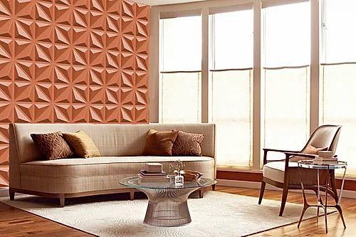 Revestimento Decorativo Placas 3D  Bari 1 mt²