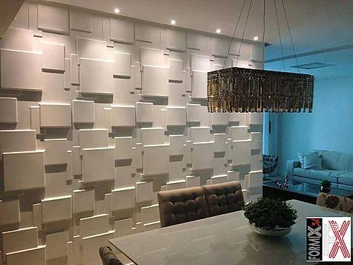 Revestimento Decorativo Placas 3D  Crotone 1 mt²