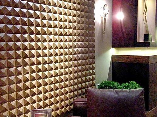Revestimento Decorativo Placas 3D Ísquia 1 mt²