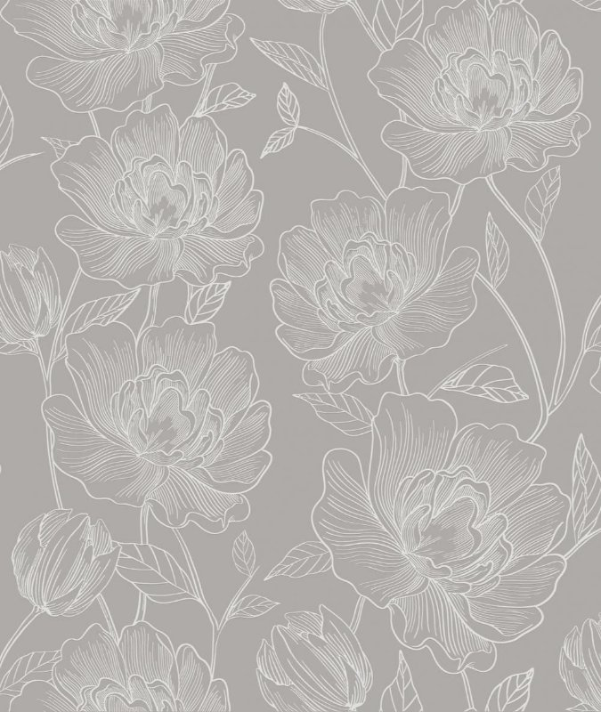 Papel de Parede ATEMPORAL - 3803 Flores
